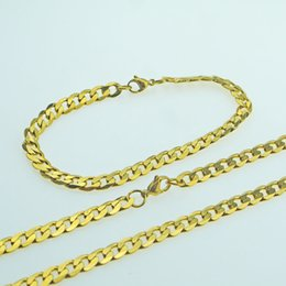 $enCountryForm.capitalKeyWord NZ - Rattan edging Width 6m fashion and American style men and women universal bracelet necklace set Between the gold