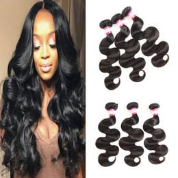 Pretty brazilian human hair online shopping - Pretty Coco A Brazilian Virgin Hair Bundles Body Wave Straight Hair Peruvian Malaysian Human Hair Weave Bundles Natural Color Dyeable