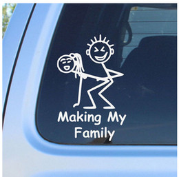 Discount Funny Family Car Stickers  Funny Family Car - Unique family car decals