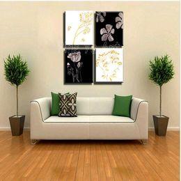 handmade art for bedroom wall 4 muti piece modern abstract wall art handmade black white