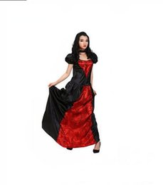 Discount vampire costumes for women Halloween costume fancy dress party costume for cosplay costume gorgeous vampire female clothing skirt