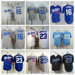 1e85c2d6b ... World Series Patch Replica Jersey 23 Adrian Gonzalez 16 Andre Ethier  Los Angeles Dodgers Baseball Jerseys White Home Gray Road Blue Mlb 2017  Flexbase ...