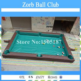 $enCountryForm.capitalKeyWord Australia - Free Shipping Top Selling Inflatable Pool Ball Table Snooker Soccer Ball Table Billiard Football Field With Balls