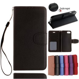 Luxury Credit Card Iphone Canada - For iPhone X Luxury PU Flip Wallet Leather case for iPhone 7 Plus Cases With Credit Card Holder For iPhone 8 Plus 6 6S Plus Free Shipping