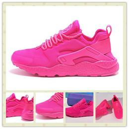 aba6973436f1 ... air huarache customized nike huaraches nike nike shoes dope wishlist  pink sneakers pink wis pink huarache sneakers