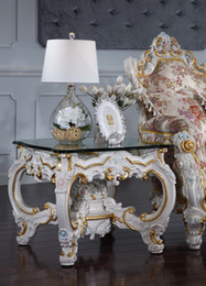 $enCountryForm.capitalKeyWord UK - French Provincial living room furniture -Royalty classic coffee table -Italian square table