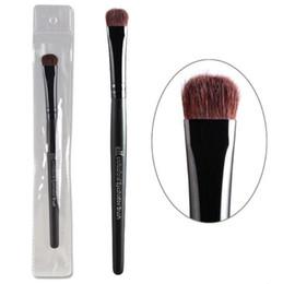 Makeup brush horse hair online shopping - E l f Brand Professional Eyeshadow Brushes Elf Studio Single Black Eye Shadow Makeup Brush Cosmetic Tool Kits with Horse Hair Wood Handle
