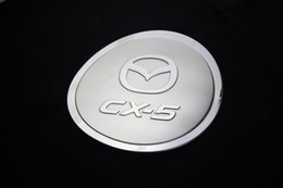 Accessory for mAzdA cx5 online shopping - Mazda CX CX CX5 Tank Cover Stainless Steel Oil Fuel Cap Gas Tank Cover Trim for Mazda CX5 Car Accessories