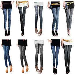 $enCountryForm.capitalKeyWord NZ - 2 Colors 7 Style Casual Denim Women Lady Elastic Jeans Skinny Jeggings Sexy Trousers Stretchy Slim Leggings Pants