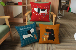 $enCountryForm.capitalKeyWord Canada - Cartoon Animal Dog Puppy Collection Pillow Emoji Pillow Massager Decorative Pillows Fashion Home Decoration Cute Pets Kids Gift