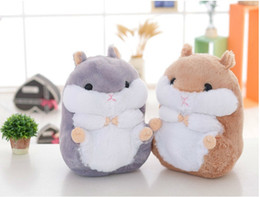 2018 japan presents 15cm cute soft hamster plush dolls Japan stuffed toys guinea pigs hamsters dolls for girlfriend a birthday present disco
