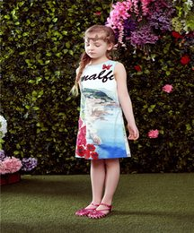$enCountryForm.capitalKeyWord Canada - Girls Dress Baby Girl Dress Flower Butterfly Girls Dresses Kids Clothes Floral Dresses For Toddler Dresses For Girls Princess Skirt