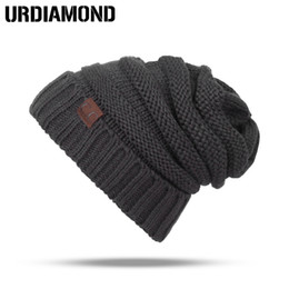 Winter Warm Beanies Canada - 2017 Skullies Beanies Winter Hat For Women Warm Hat Fashion Knitting Warm Cap Warm Wool Hat Cap Leisure Fashion Winter Hats