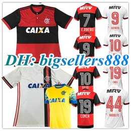 Camisa flamengo jersey 2017 2018 Chandal Flamengo Jersey 17 18 Brasil  Flemish Away ZICO ELANO HERNANE Soccer Jerseys sports Uniform shirts ... bd6f3b2cc
