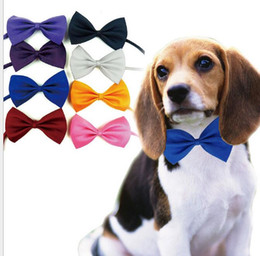 $enCountryForm.capitalKeyWord NZ - Large and Small Dog Collar Nylon bow tie Webbing pet Collar Safety Necklace pet neck collars& leashes pet cute necktie