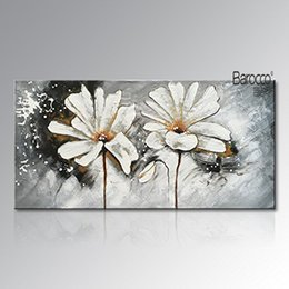 White flower oil australia new featured white flower oil at best white flower oil australia 100 hand painted white flowers abstract oil painting on canvas mightylinksfo