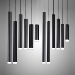 $enCountryForm.capitalKeyWord Canada - Creative Pendant Lights, Modern Kitchen Lamp Dining Room Bar Counter Shop Pipe Pendant Lights Kitchen Light, Cylinder Aluminum