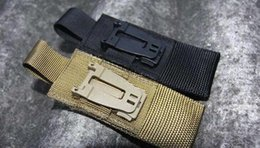 Car Camping Gear Canada - E-31 EDC Tool EDC GEAR wholesale 50 Pcs lot Outdoors wholesale molle webbing buckle clip camping fans backpack accessories