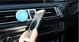 Vente en gros Support de voiture automatique de rotation de 360 degrés Mini évent d'évent de sortie d'air de bâti d'aimant de support mobile de téléphone magnétique