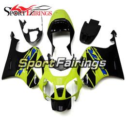 Rc51 Fairing Black Canada - Full Fairing Light Green Black For Honda VTR1000 RC51 SP1 SP2 00 01 02 03 04 05 06 Compression ABS Motorcycle Fairing Kit Bodywork Cowling