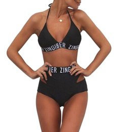 China European Style Women Bandage Bikini Set Push-up Padded Swimsuit Bathing Suit Swimwear Beachwear Monokini Biquini Set BHU2 suppliers