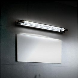 2016 Modern 6w Led Bathroom Mirror Light Front Wall Mounted Lamp Stainless Steel Bathroom Lights Lampara De Pared Up Down Lamps E27 Bathroom Led Light On