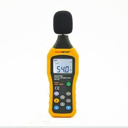 Envío gratis nuevo tipo de alta precisión medidor de nivel de sonido digital detector de ruido de voz medidor probador de ruido Instrumento herramientas CE ROHS aprobado en venta