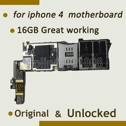 $enCountryForm.capitalKeyWord Canada - Wholesale-For Iphone 4 Motherboard Mainboard 16GB Free shipping full function Unlocked & Original, With Full Chips Logic Board