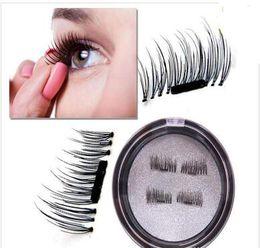 Top False Eyelashes NZ - Newest Top quality 3 D magnetic free of false eyelash glue sharpen natural and comfortable soft
