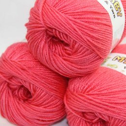 $enCountryForm.capitalKeyWord UK - SALE LOT of 3 Skeins DK 4ply Silk wool cashmere warm baby yarn Knitting Banana rose pink 08