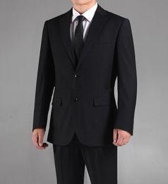 $enCountryForm.capitalKeyWord NZ - Side slit Custom-made Color and Size Groom Tuxedos Bridegroom Best Man Suits Men Wedding Suits Bridegroom (Jacket+Pants+Tie)