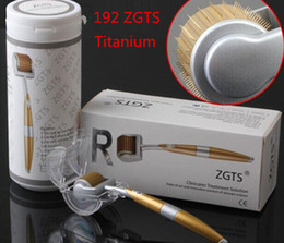 $enCountryForm.capitalKeyWord NZ - Free DHL 100pcs lot ZGTS 192 Titanium derma roller 0.2-3.0mm microneedle dermaroller lowest factory price ZGTS skin roller