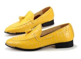 $enCountryForm.capitalKeyWord Canada - 2016 Genuine Leather loafers men Casual Oxford Shoes crocodile grain men Dress Shoes mens Shoes Wedding Shoes Business Shoes M8