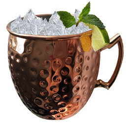 picnic camping moscow mule mugs stainless steel copper plated cups cocktail beer cool drinking cups outdoor beverage wine glasses