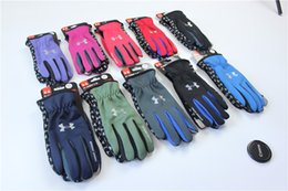 Gloves bicycle full finGer online shopping - UA Touch Screen Gloves Winter Windproof Warm Cycling Full Finger Glove Outdoor Sports Mtb Bike Bicycle Skiing Touch Screen Glove