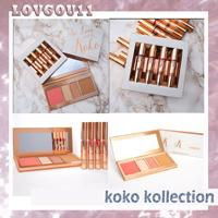 Barato Eyeshadow Lipgloss Blush-Kylie In Love com Koko KOLLECTION Blush Highlighter Palette + batom lipgloss Contour eyeshadow Por KYLIE Cosmetic 660146-1