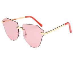 573a68bb13b 2017 Frameless Sunglasses Women Top Brand Designer Candies Gradient Lens Sun  Glasses Vintage oculos de sol feminina UV400 L07