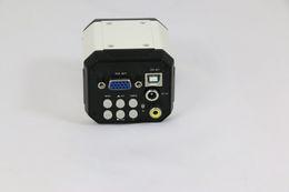 $enCountryForm.capitalKeyWord UK - Freeshipping New 3 in 1 HD Digital Industry Industrial Microscope Set Camera Magnifier VGA USB AV TV Video output PCB Lab