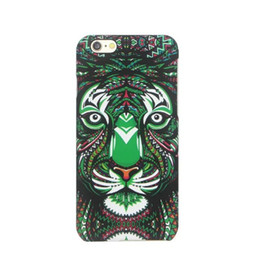 iphone tiger hard case UK - Glow In Dark Cartoon Tiger Hard PC Case For Iphone 6 6S Plus SE 5S Samsung Galaxy S7 S6 EDGE PLUS NOTE 5 J1 ACE J3 Luminous Feel Skin Cover