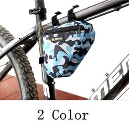 Mountain Bike Green NZ - New Arrival Outdoor Cycling Mountain Bike Bicycle Saddle Bag Back Seat Tail Pouch Package Green Blue Waterproof