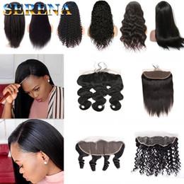 $enCountryForm.capitalKeyWord Canada - Straight Body wave Loose Deep Kinky Curly Kinky Straight 13x4 Malaysia Hair Lace Frontal and Closure Ear to Ear Human Hair With Frontal