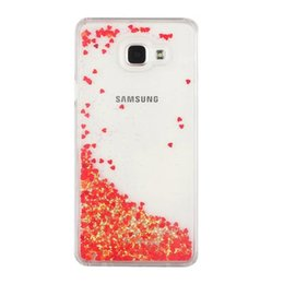 Discount liquid case samsung galaxy a5 - Magical Quicksand Love Heart Star Hard Case For Samsung Galaxy A510 A710 2016 A7 A5 Liquid Glitter Bling Dynamic Skin Co