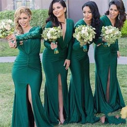 Forest Green Dresses Online | Forest Green Bridesmaids Dresses for ...