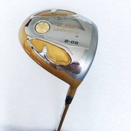 China New Golf Clubs HONMA Clubs S-05 4Star Golf driver 9 5 10 5 loft Regular Graphite Golf shaft clubs driver headcove Free shipping suppliers