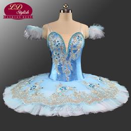 Women ballet costume online shopping - Blue Bird Professional Ballet Tutu Women Blue Classical Ballet Tutus Ballet Stage Costumes Ballerina Performance Tutu Skirt LD0039