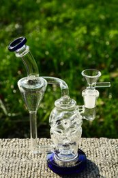 $enCountryForm.capitalKeyWord NZ - New Skull Glass Bongs with Double recycler fab egg Oil Rigs solid base water pipe with 14 mm joint