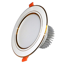 aluminum recessed ceiling lights Australia - downlights led 3W-24W smd 5730 led down lights recessed ceiling down lights indoor decorative lights AC85-265V CE ROHS FCC SAA UL