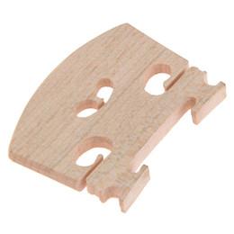 Discount violin bridges - Maple Material Violin Fiddle Bridge Violin Bridge 4 4 Size