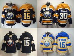 303467c4414 NHL Buffalo Sabres hoodies 2016 cheap hockey jerseys hoody Sweatshirts  EICHEL15 MILLER30 Authentic .