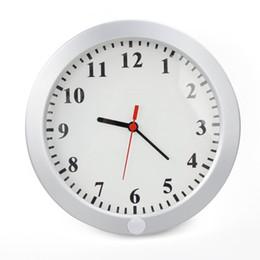 Spying clock online shopping - Efine P Spy Wall Camera Cam Camcorder Clock DVR DV Pinhole Mini Surveillance Web Camera Self Heat Induction Rotates Degree Shooting W